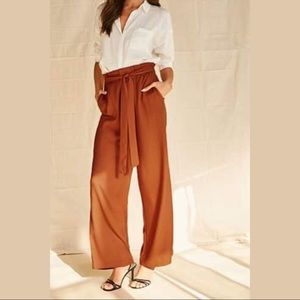 NEW Forever 21 Rusty Wide Leg Pants